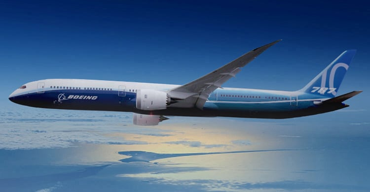 Boeing 787 roll-out. Den nye 787-10 Dreamliner præsenteres idag. Læs mere på Flyvere.dk - website om fly, flyvning og flyvere