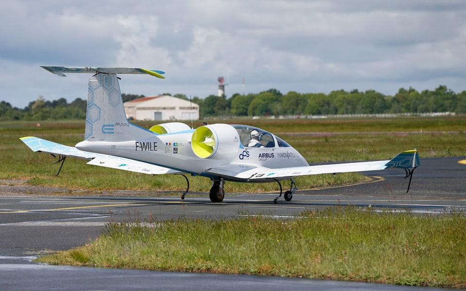 Airbus E-Fan.1 2015 - Flyvere.dk