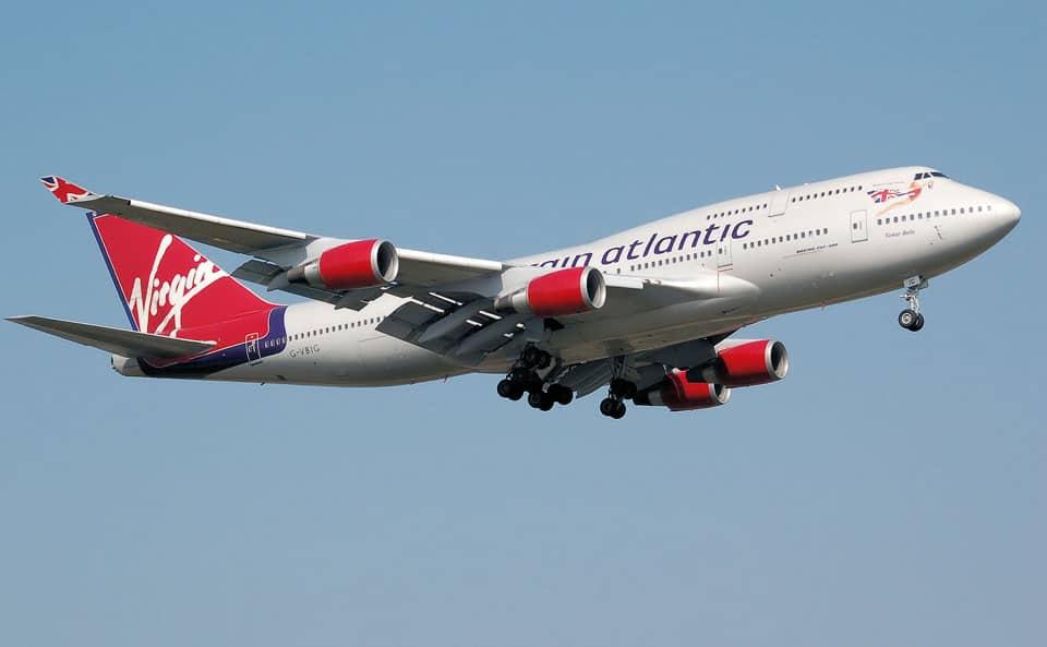 Virgin Atlantic Boeing 747-400 - flyvere.dk