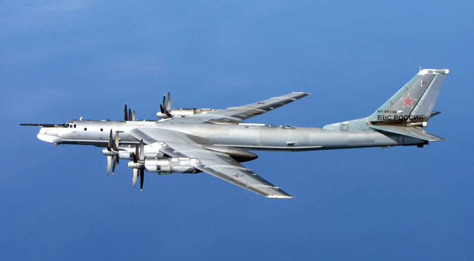 Tupolev Tu-95 Bear - flyvere.dk