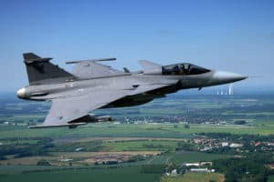 Saab JAS 39 Gripen - flyvere.dk