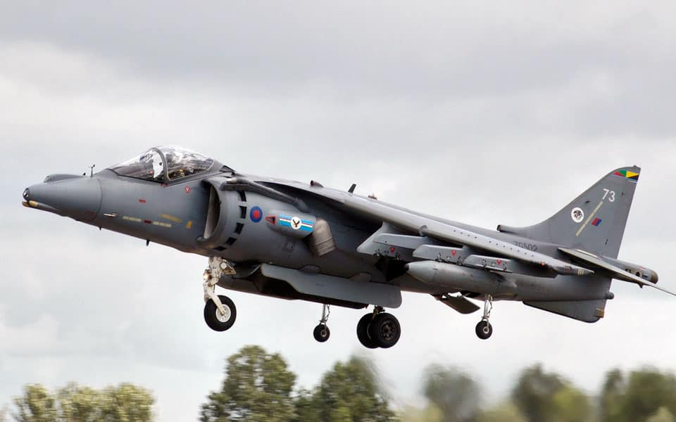Harrier Jump Jet - flyvere.dk