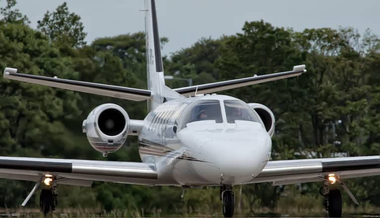 Cessna 551 Citation IISP - podded engines - flyvere.dk