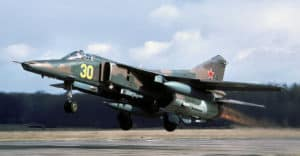 Mikoyan MiG-27 Flogger - flyvere.dk