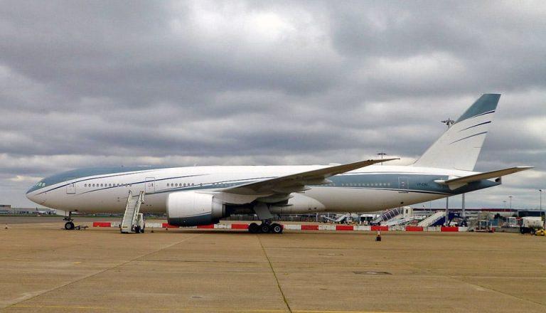 Boeing 777 200LR VIP flyvere.dk