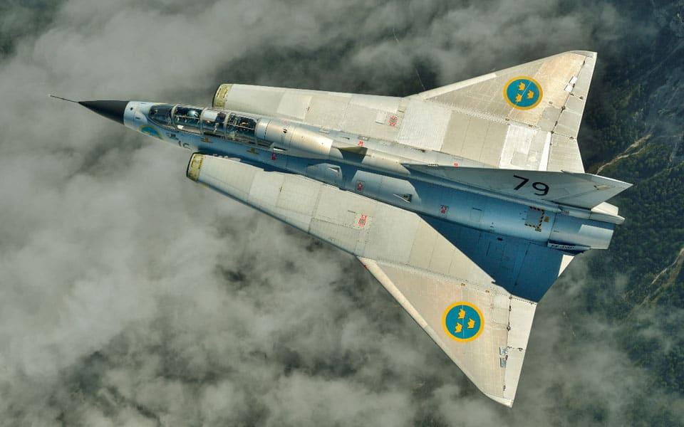 Saab J35 Draken - flyvere.dk