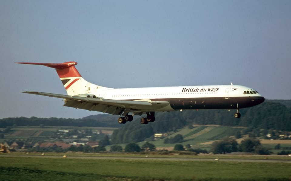Vickers VC10 er et britisk narrow-body langdistance passagerfly