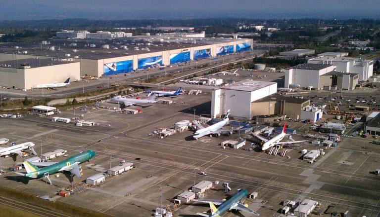 Boeing Everett Plant - flyvere.dk
