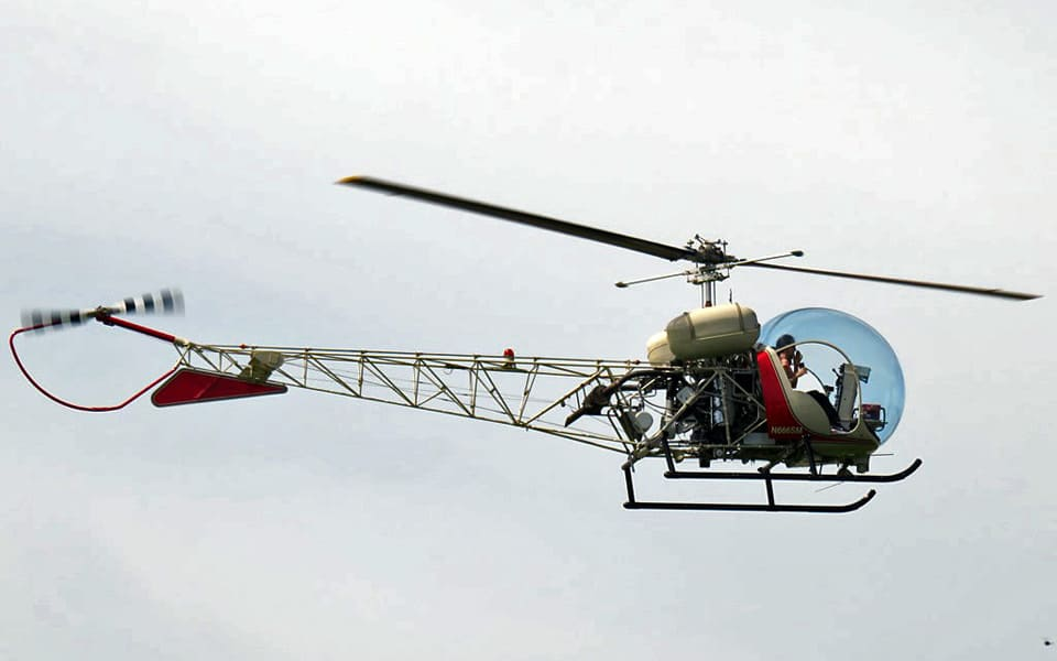 Bell 47 - flyvere.dk