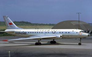 Aeroflot Tupolev Tu-104 - flyvere.dk