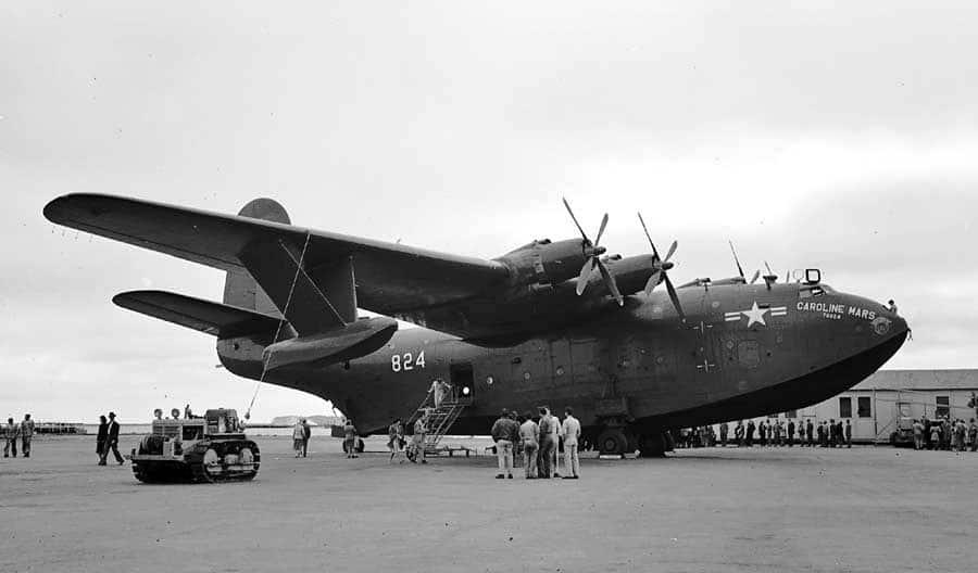 Martin JRM Mars - Caroline Mars 1948 - flyvere.dk