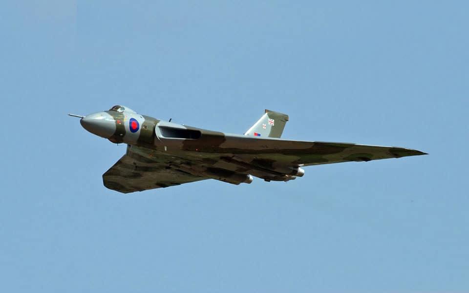 Avro Vulcan - flyvere.dk