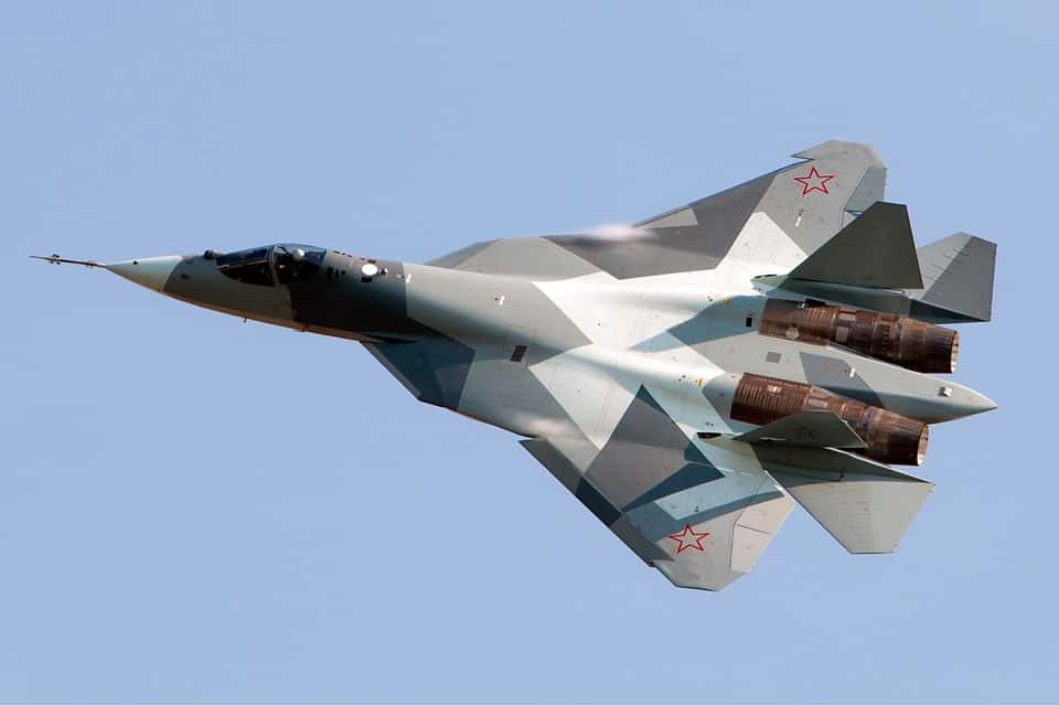 Sukhoi Su-57 – flyvere.dk