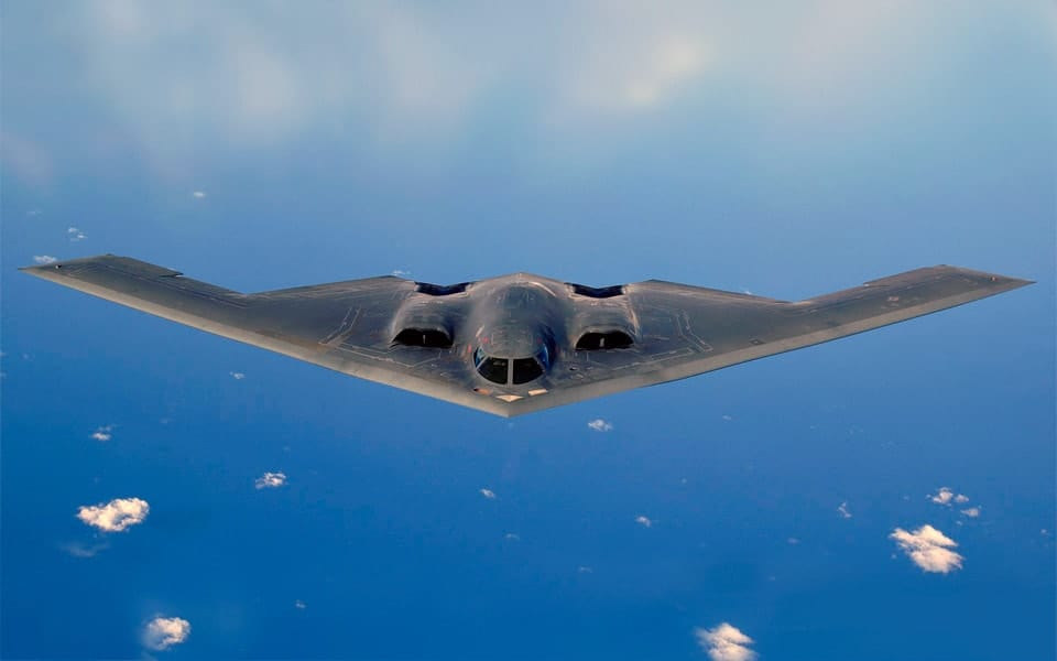 Northrop Grumman B-2 Spirit.. Flyvere.dk