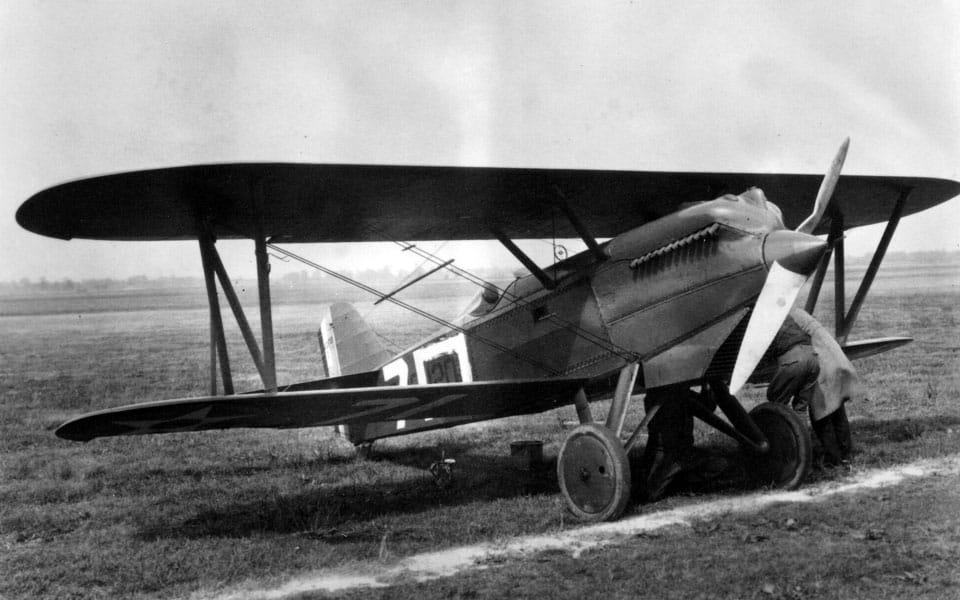 Curtiss P-1 Hawk. Flyvere.dk