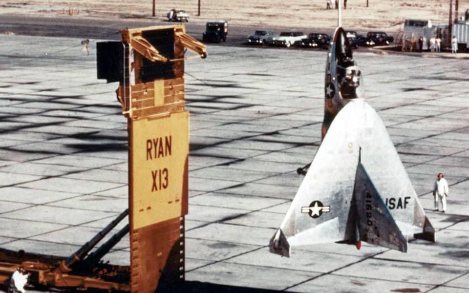 Ryan X-13 Vertijet - flyvere.dk