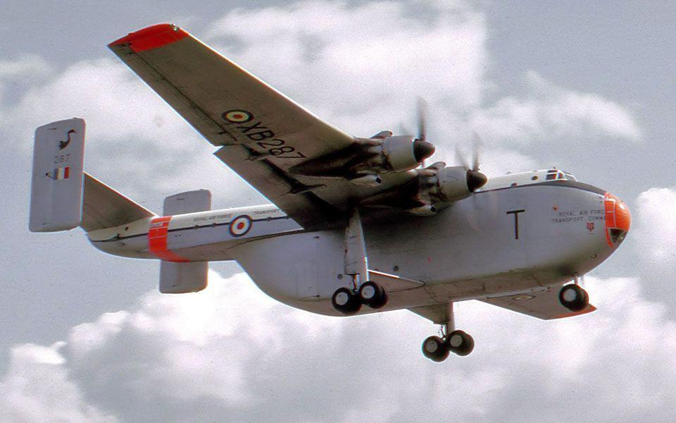 RAF Blackburn Beverley. Foto: Wikimedia commons.