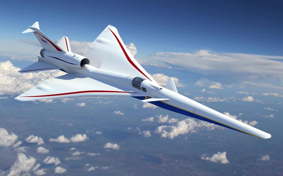 Lockheed Martin X-59 QueSST - flyvere.dk