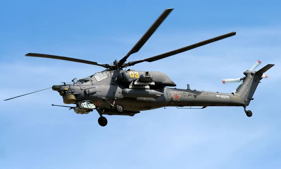Mil Mi 28 -flyvere.dk