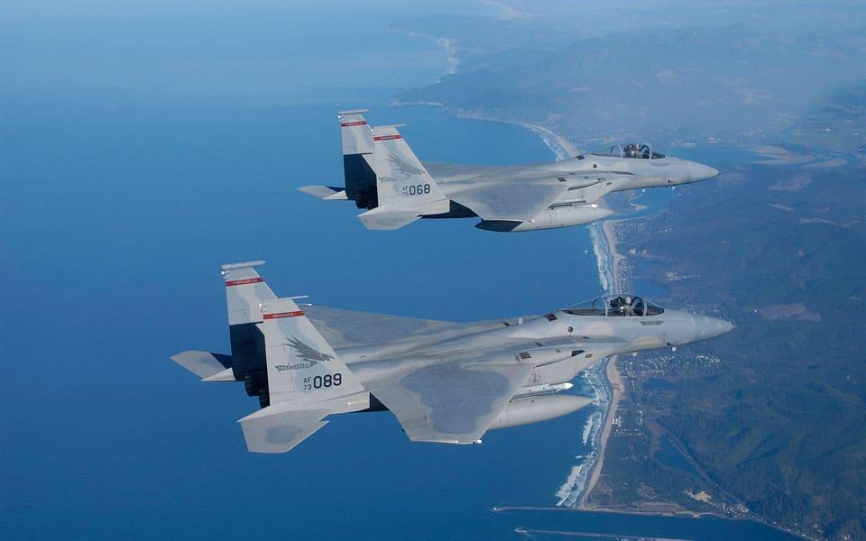 F-15 Eagle - flyvere.dk