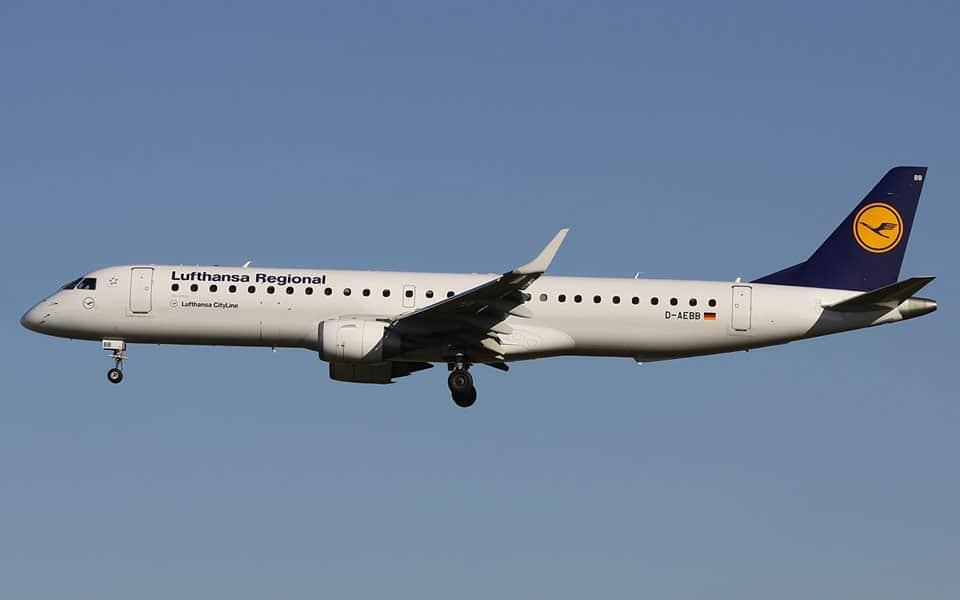 Embraer E-jet E195 - flyvere.dk