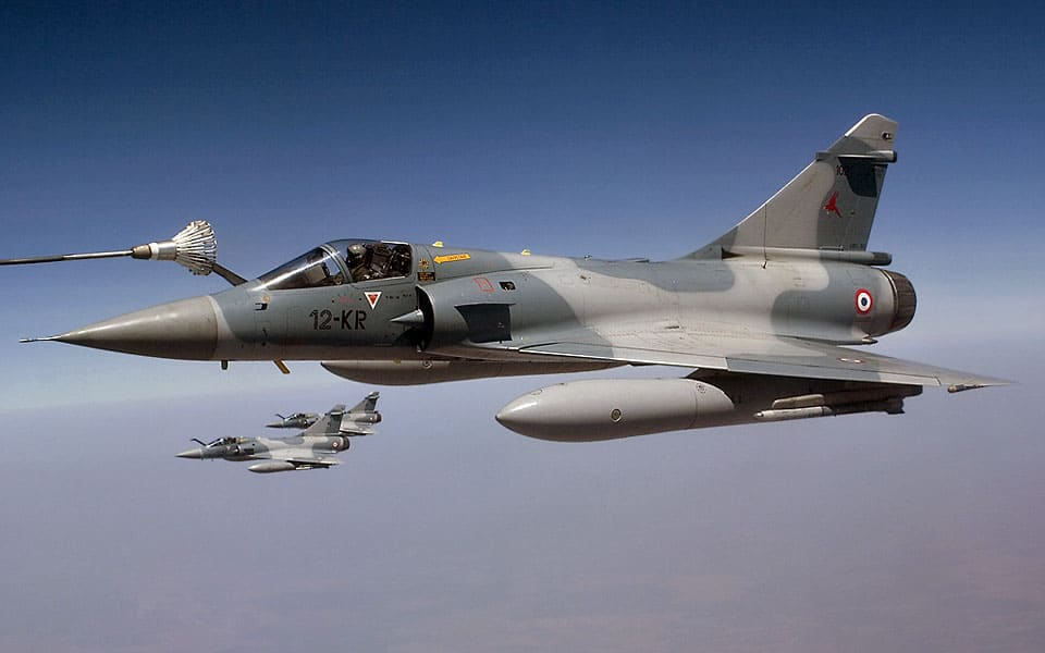 L´armee de l´air Dassault Mirage 2000C - flyvere.dk
