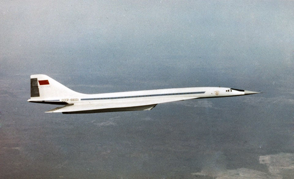 Tupolev Tu-144 - flyvere.dk