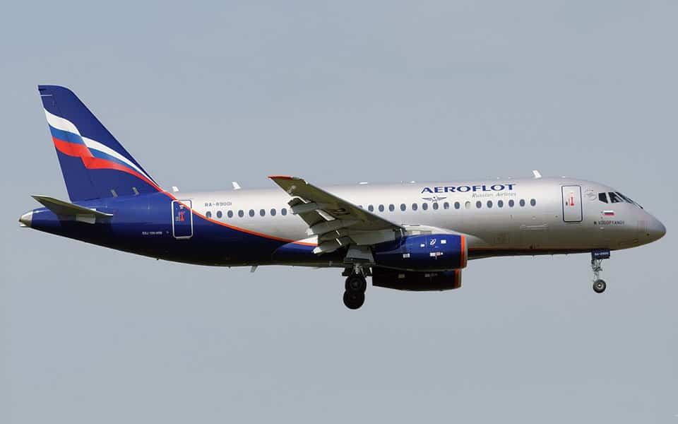 Sukhoi SuperJet - flyvere.dk