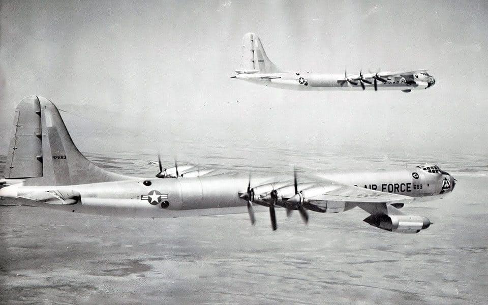 Convair B-36 Peacemaker - flyvere.dk