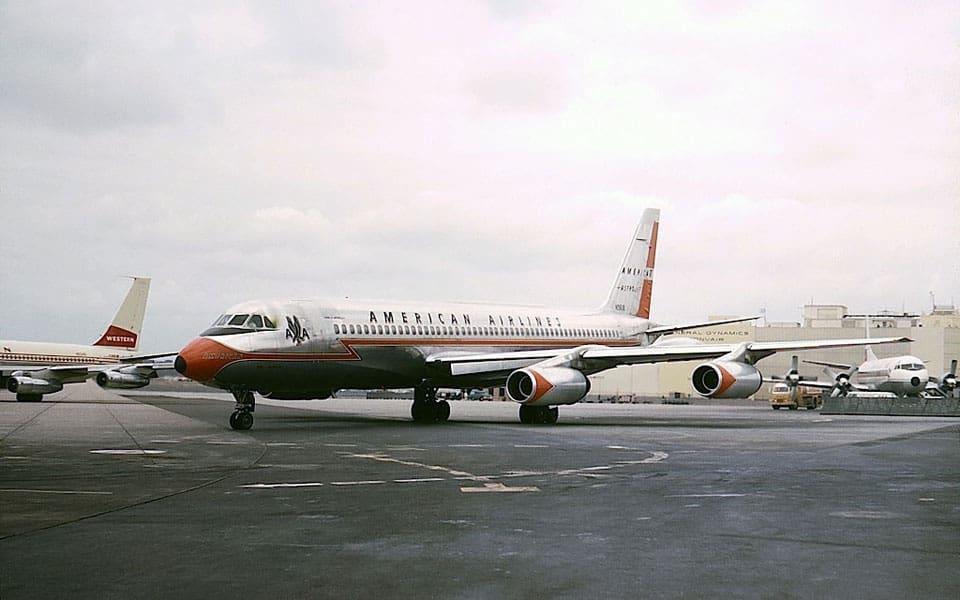 Convair 990 Coronado - flyvere.dk