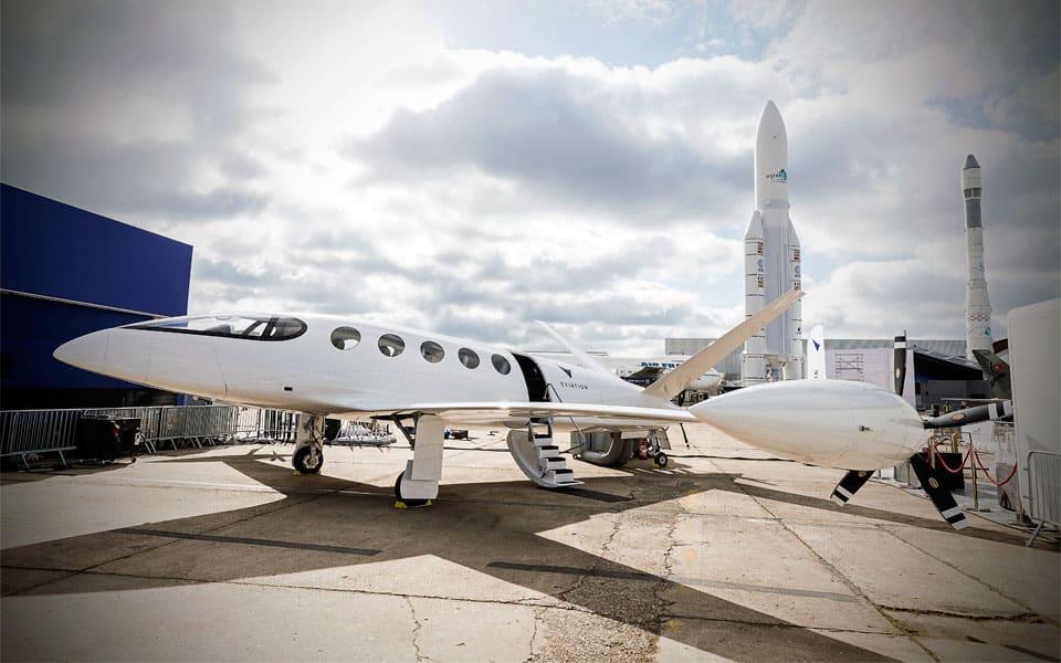 Eviation Alice elektrisk passagerfly på Paris Air Show - flyvere.dk