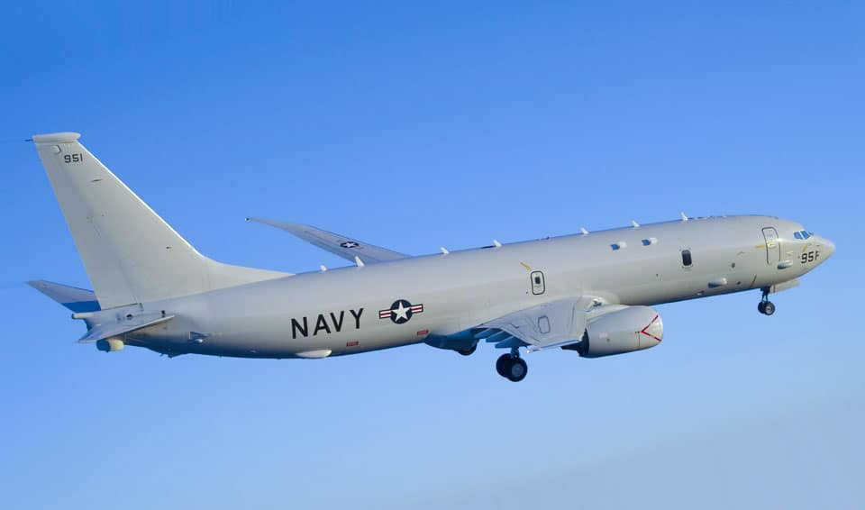 Boeing P-8 Poseidon - flyvere.dk