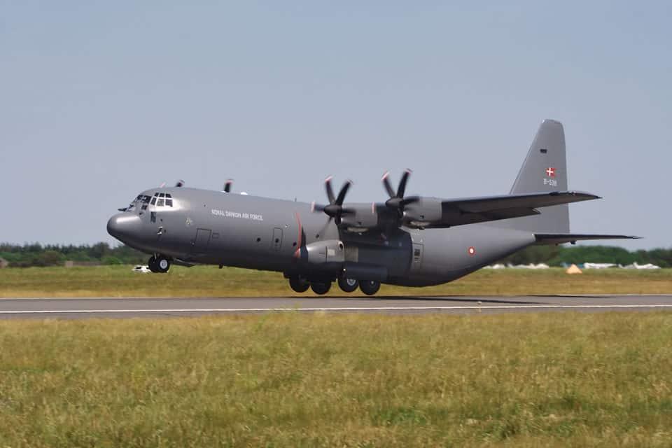 RDAF Lockheed Martin C130J Hercules - flyvere.dk