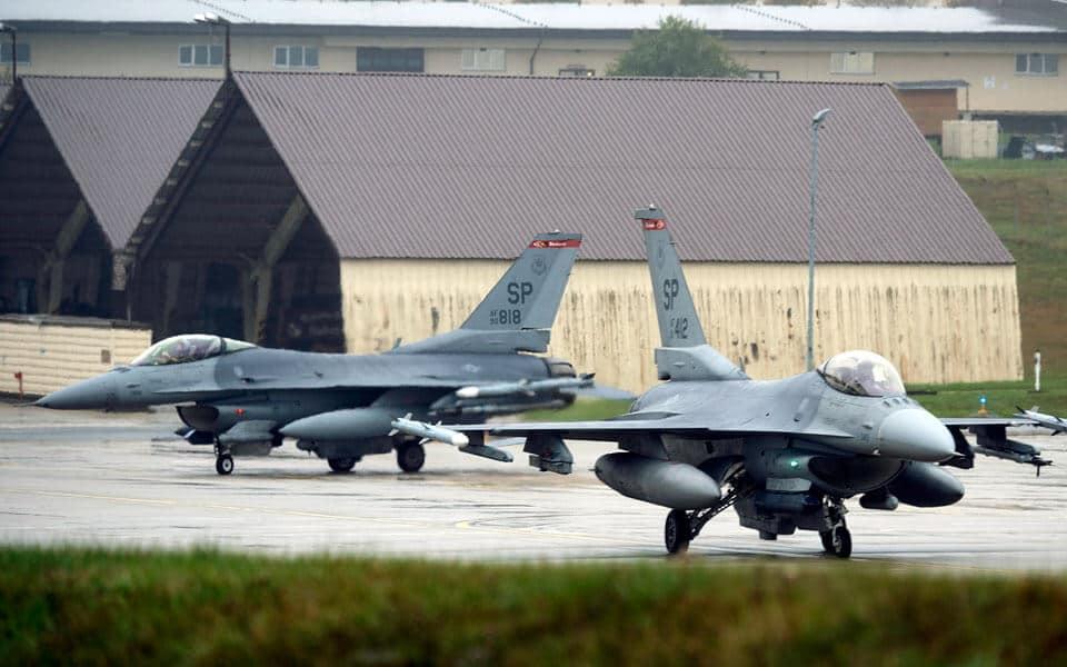F-16 fly er styrtet ned i Tyskland - flyvere.dk