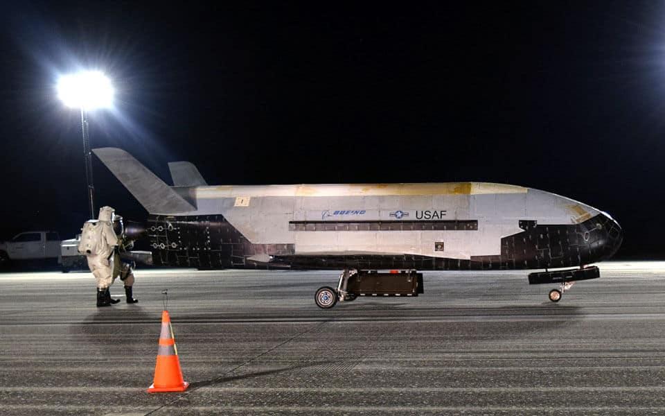 Boeing X-37B - flyvere.dk