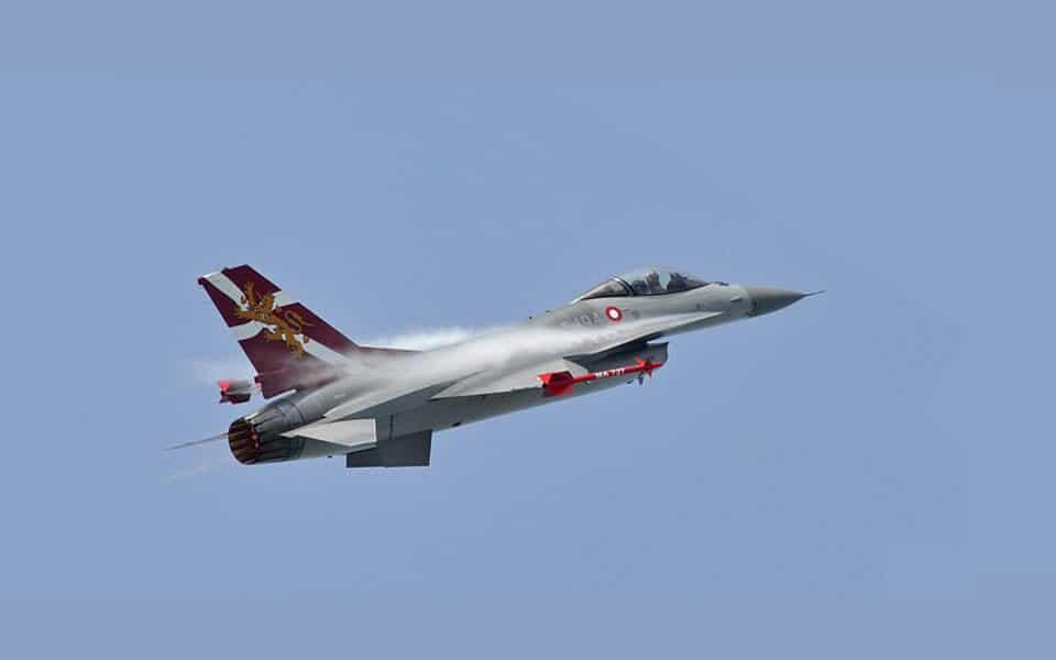 F-16 40 års jubilæum - flyvere.dk