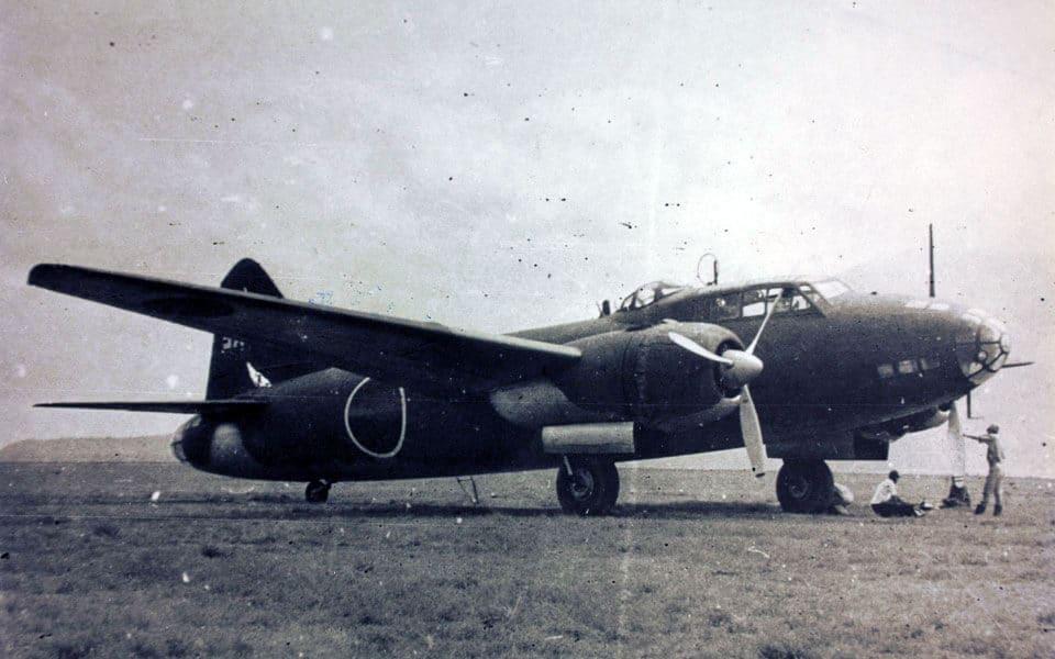 Mitsubishi G4M - flyvere.dk