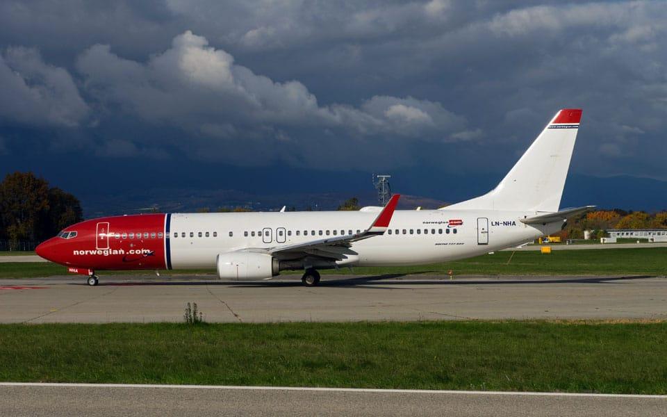 Norwegian er i knibe - flyvere.dk