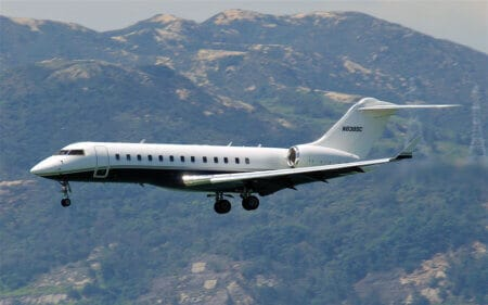 Bombardier Global Express - flyvere.dk