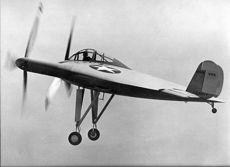 Vought V-173 - flyvere.dk