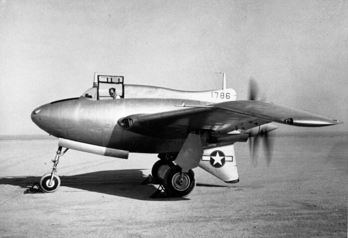 Northrop XP-56 Black Bullet - flyvere.dk