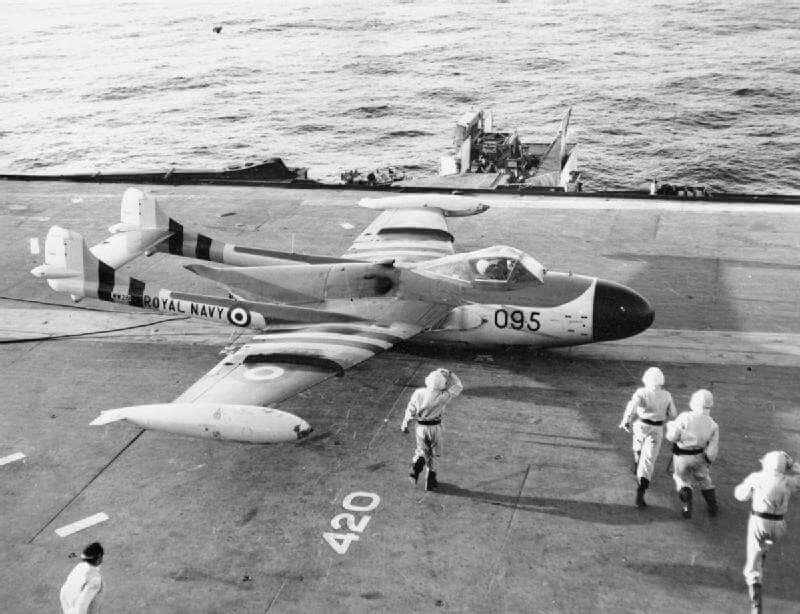 De Havilland DH.112 Sea Venom - flyvere.dk