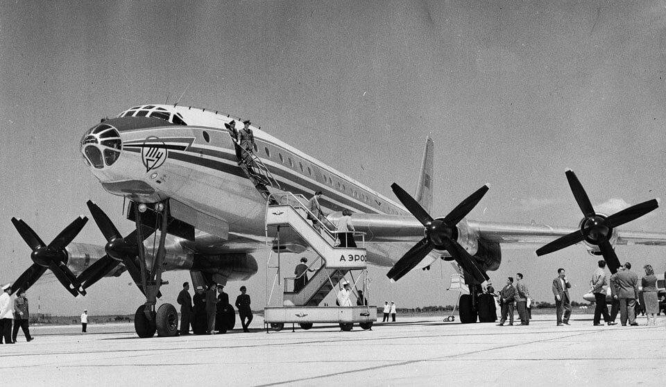 Tupolev Tu-114 - flyvere.dk