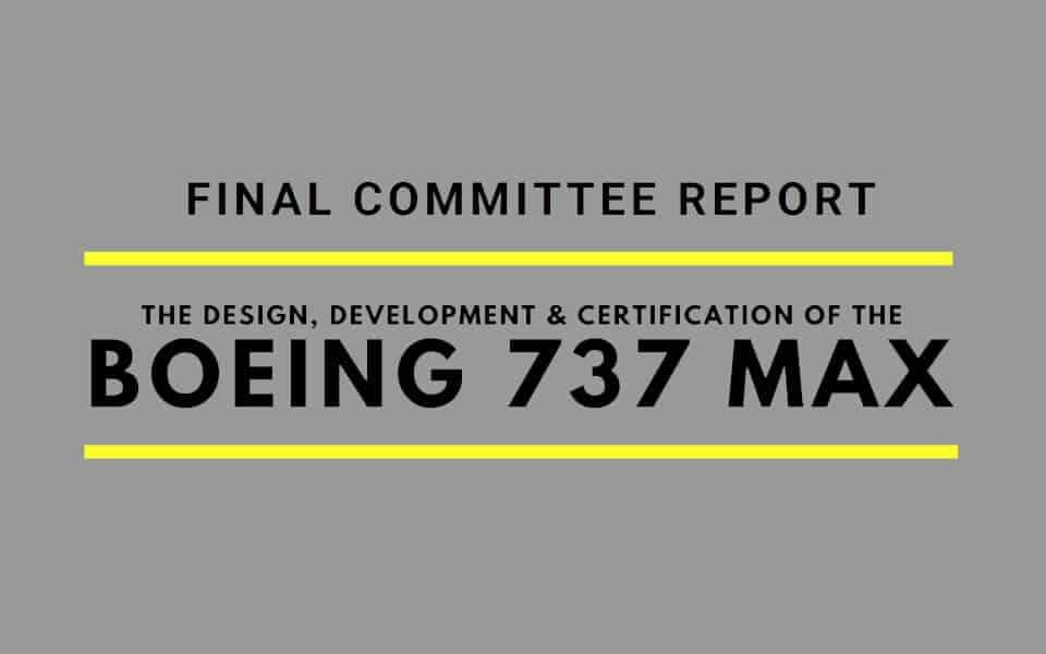 Rapport giver FAA og Boeing skylden