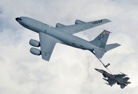 Lufttankning - flyvere.dk