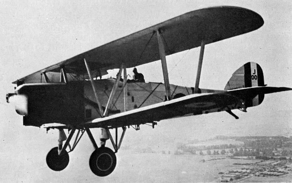 Hawker Horsley - flyvere.dk