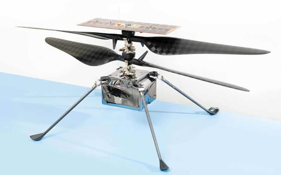 Det første udenjordiske rotordrevne luftfartøj - flyvere.dk
