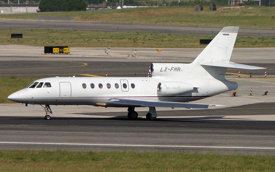 Dassault Falcon 50 - flyvere.dk