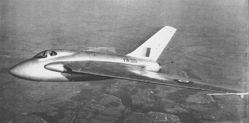 de Havilland DH 108 - flyvere.dk