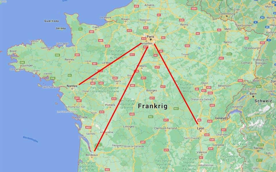 Korte indenrigsflyvninger forbydes i Frankrig - flyvere.dk